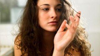 Как приручить пышные волосы?